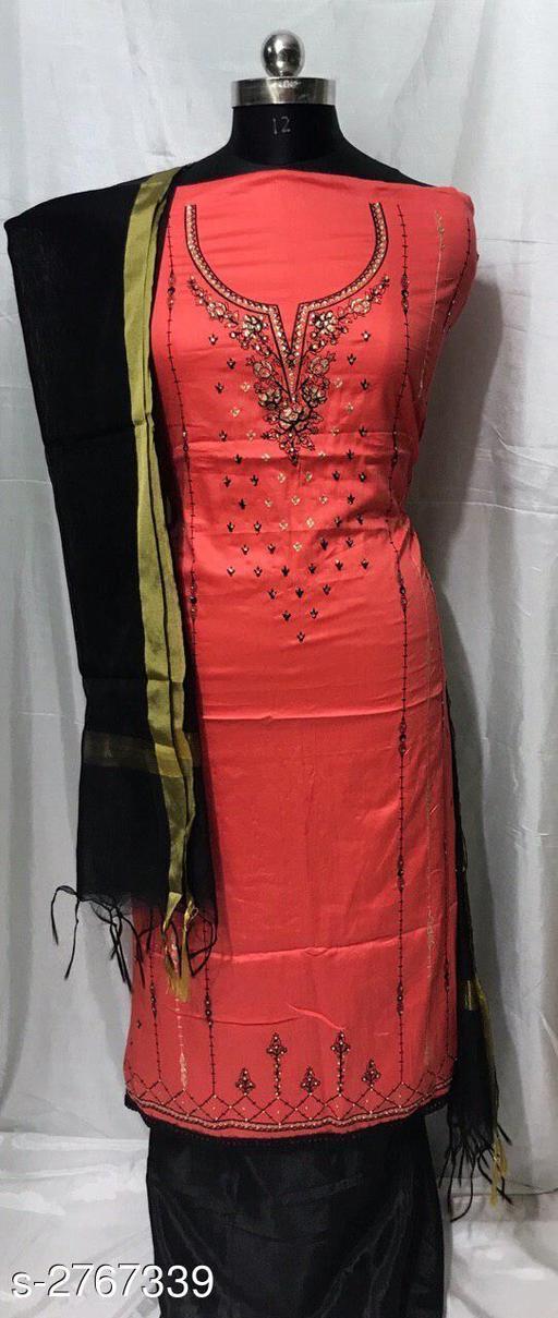 Trendy Jam Soft Cotton Women's Suits & Dress Material