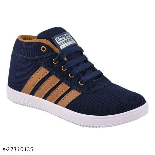 Stylish Boy's Navy Blue Casual Shoes