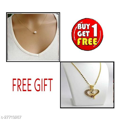 FREE gift with necklaces & chain