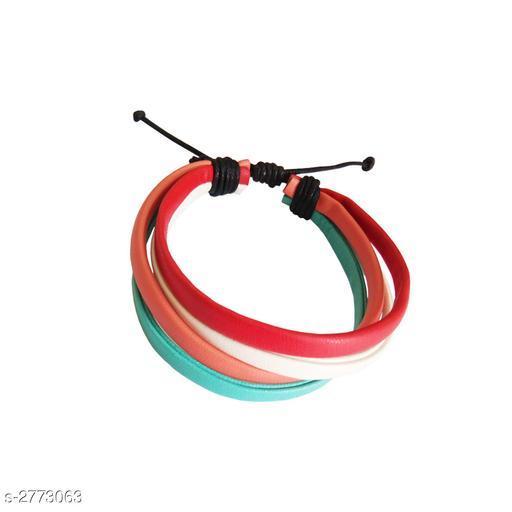 Voguish Stylish Leather Unisex Bracelet
