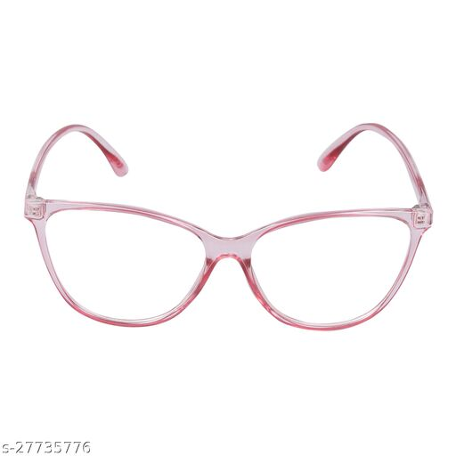 Criba_Cat Style_Big Size_Pink Glasses_For Women/Girls/Ladies
