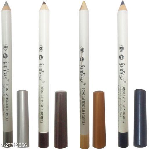 1 SHRYOAN  GOLDEN LIPLINER/EYELINER PENCIL (1.8 GM) + 1 SHRYOAN  BROWN LIPLINER/EYELINER PENCIL (1.8 GM) + 1 SHRYOAN  ROYAL BLUE LIPLINER/EYELINER PENCIL (1.8 GM) + 1 SHRYOAN  SILVER LIPLINER/EYELINER PENCIL (1.8 GM)