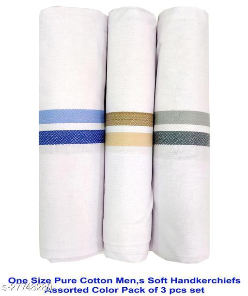 Men's Cotton Hankerchiefs