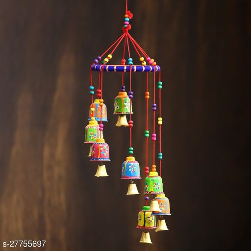 Handmade wind Chime with Beautiful and Attractive Design II Showpiece for Garden & Balcony Décor