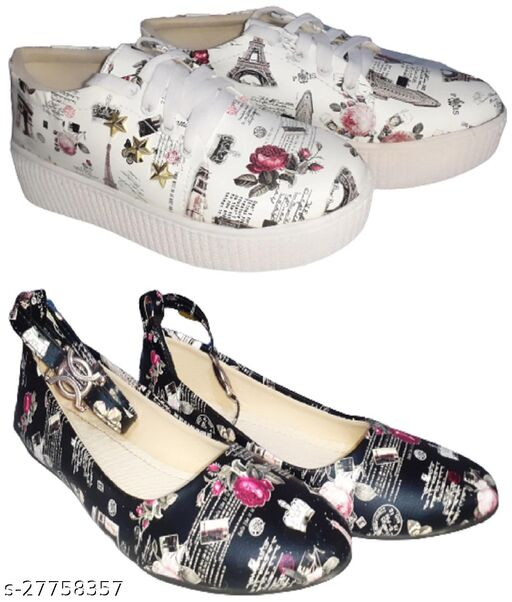 Fashion Shoe for girls & womens(Pack of-2)