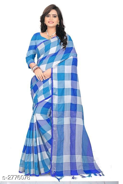 Sarees Attractive Cotton Saree  Attractive Cotton Saree  *Sizes Available* Free Size *    Catalog Name: Attractive Cotton Saree CatalogID_372857 C74-SC1004 Code: 963-2776078-