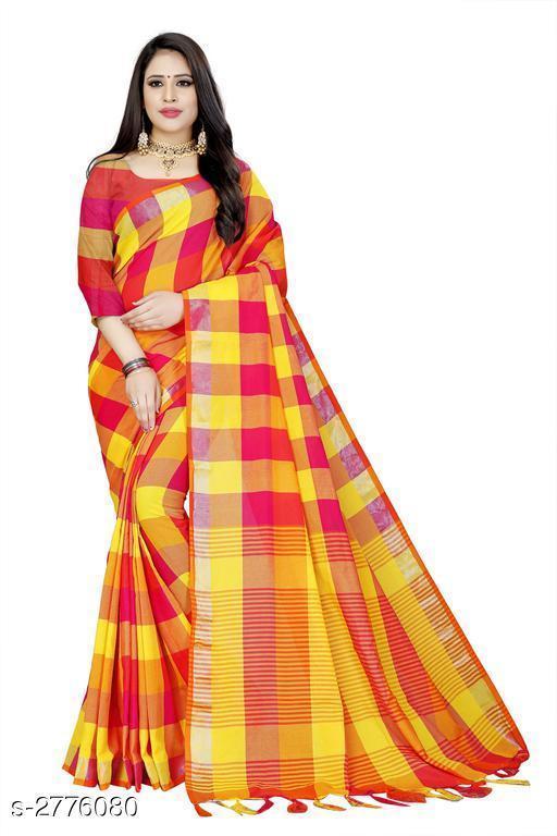 Sarees Attractive Cotton Saree  Attractive Cotton Saree  *Sizes Available* Free Size *    Catalog Name: Attractive Cotton Saree CatalogID_372857 C74-SC1004 Code: 963-2776080-