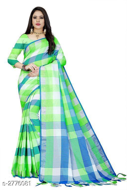 Sarees Attractive Cotton Saree  Attractive Cotton Saree  *Sizes Available* Free Size *    Catalog Name: Attractive Cotton Saree CatalogID_372857 C74-SC1004 Code: 963-2776081-