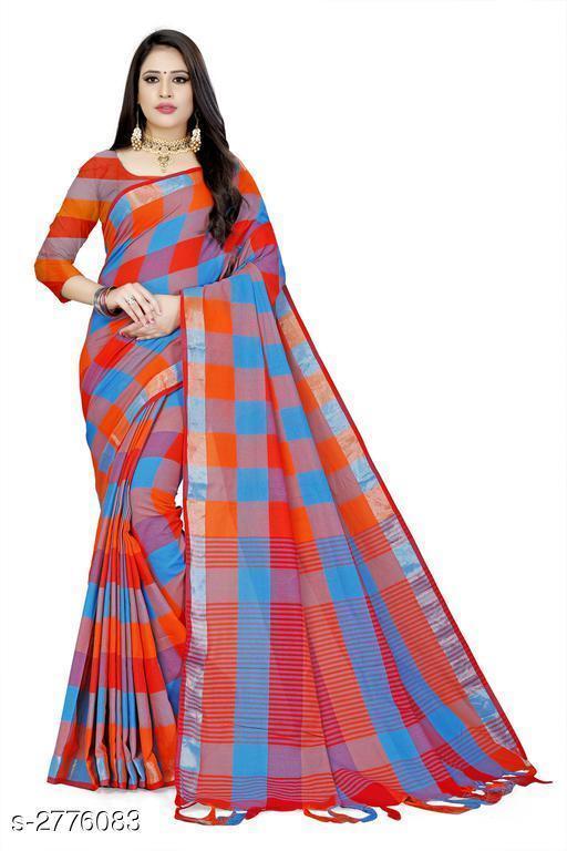 Sarees Attractive Cotton Saree  Attractive Cotton Saree  *Sizes Available* Free Size *    Catalog Name: Attractive Cotton Saree CatalogID_372857 C74-SC1004 Code: 963-2776083-