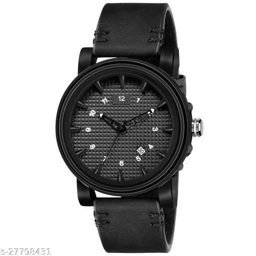 Walrus Terrain Series Black Dial Men Wristwatch With Date Function