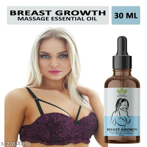 Haria Naturals 100% Naturals & Effective Breast Growth Massage Essential Oil Improves Breast Size & Increase Breast Firmness No Side Effect 30ML