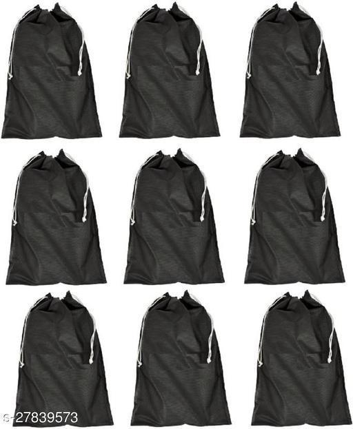 9 piece shoe storage cover(black)