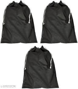 3 piece shoe storage cover(black)