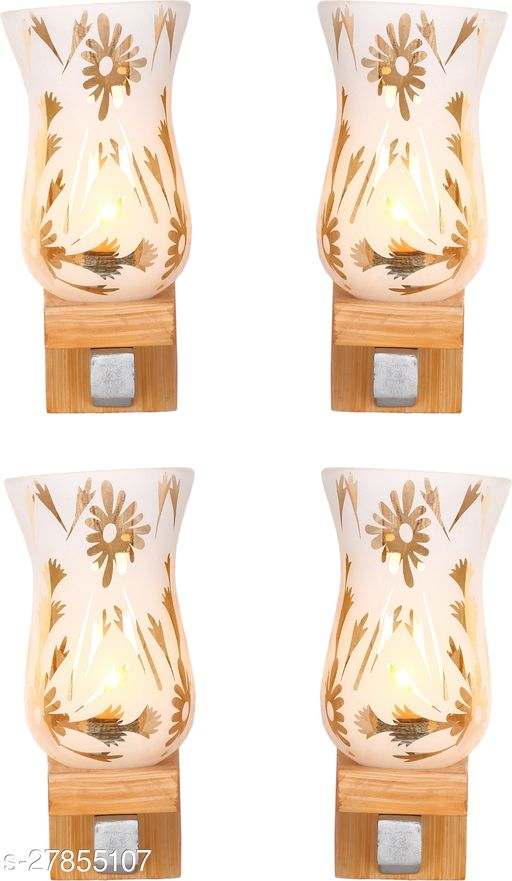 Afast New Designer Decorative Glass Wall Lamp Light With Unique Stylish Fitting And All Fitting & Fixture