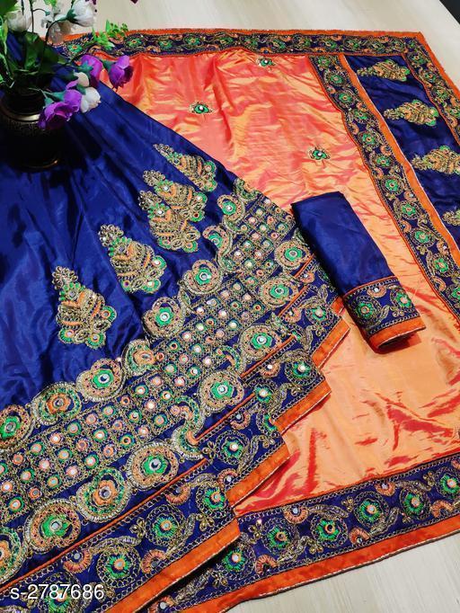 Alluring Paper Silk Women's Saree