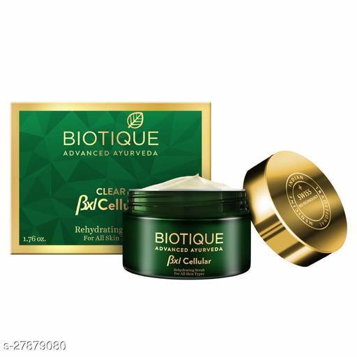 Biotique Bxl Cellular Papaya Rehydrating Scrub, 50g