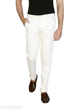 Fancy Slim Fit Casual Trousers for Men