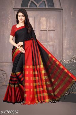 Fabulous Cotton Silk Women's Saree