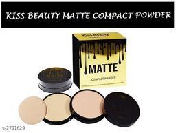 Kiss Beauty Matte 2 IN 1 Compact Powder