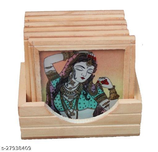 Modern  Gem Stone Coaster Set