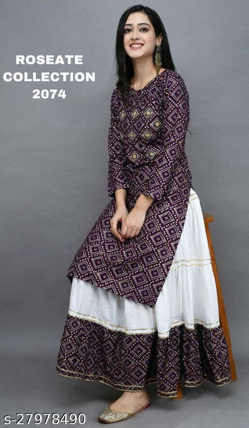 Trendy Attractive Women Kurta Sets