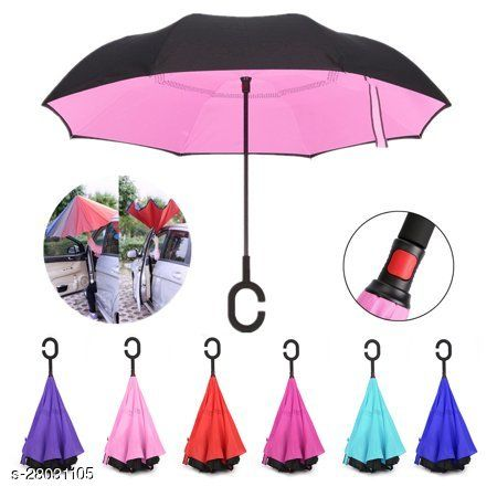 Folding Portable Wine Bottle Umbrella with Plastic Case for Summer and Rainy and Design