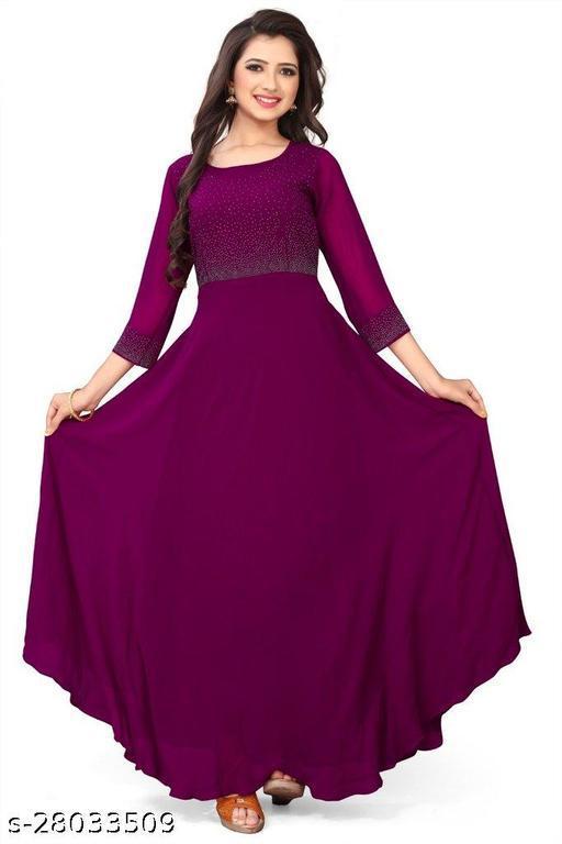 Women Georgette Gowns