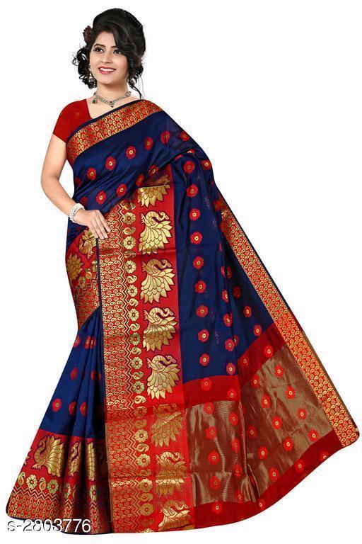 Attractive Banarasi Cotton Silk Saree