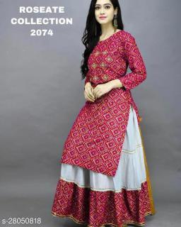 Aagam Attractive Women Kurta Sets