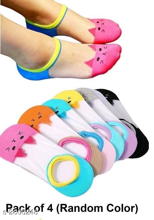 Beautiful  Women's Multicolor Cotton Socks