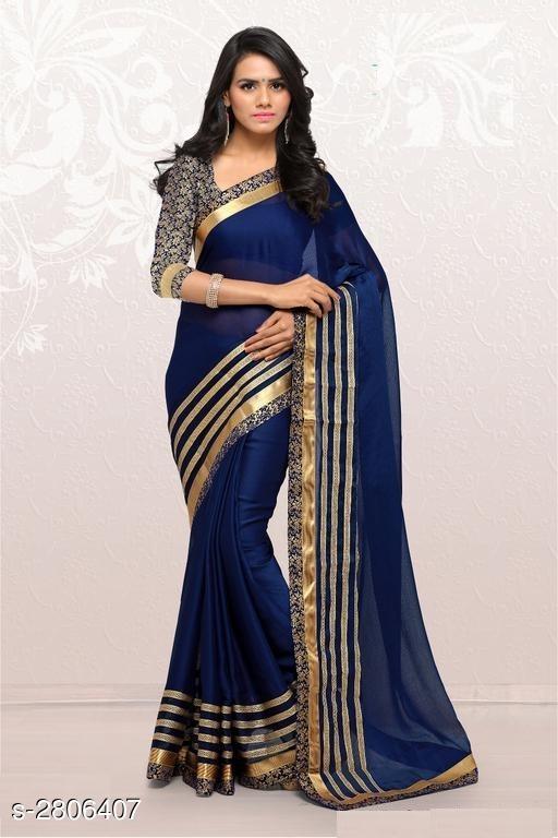 RekhaManiyar Elegant Moss Chiffon Women's Saree