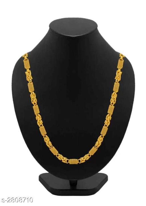 Stylish Men's Golden Alloy Chain