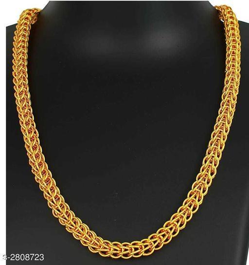 Trendy Men's Golden Chain