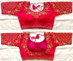 Ethnic Malabari Silk Women's Blouse