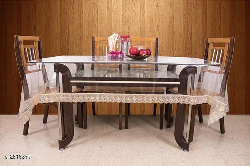 Stylish PVC Printed Dining Table Cover