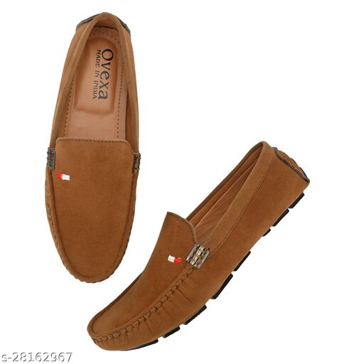 Relaxed Graceful Attractive ultra Light Tan Casual Stylish Unique Loafers For Men