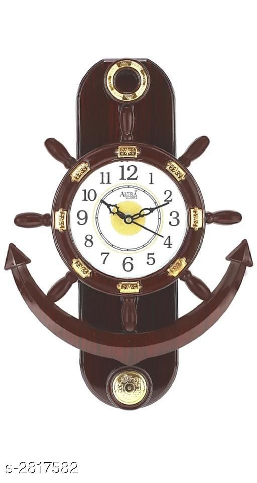 Look Stylish Elite Plastic Wall Clock