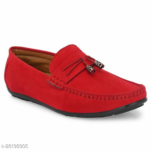 Casual Loafer For Men Red