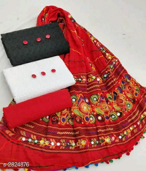 Voguish Cotton Suits & Dress Materials