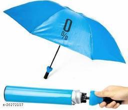 Decent Star Wine Bottle 110 cm Travel Umbrella/Folding Portable Umbrella with Plastic Case Umbrella (Multicolor)