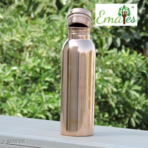 Apparel Storage  Copper Water Bottle   *Material* Copper  *Capacity * 500 ml  *Description* It Has 1 Pieces Of Water Bottle  *Sizes Available* Free Size *    Catalog Name: Divine Voguish Copper Home Utilities Vol 19 CatalogID_384675 C131-SC1628 Code: 904-2833396-