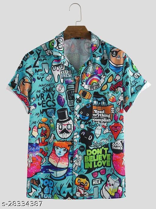 LAMA Trending Printed Casual Shirt