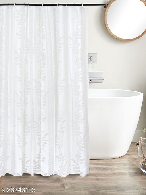 Clasiko PVC Plastic Bath Shower Bathroom Curtain