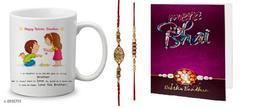 Elegant Rakhi & Mug Combo
