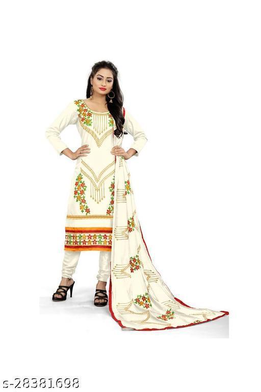 Alisha Fashionable dress material Suits