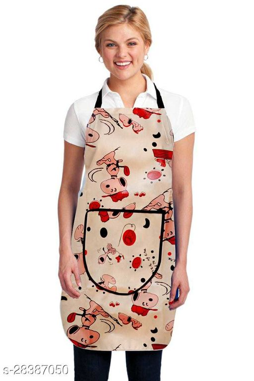 IMMENSA Apron For Doctors Waterproof Plastic(20X30,Free Size)