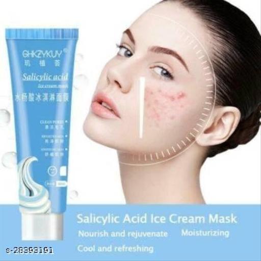 Liquid Saliclic Acid Ice Cream Mask