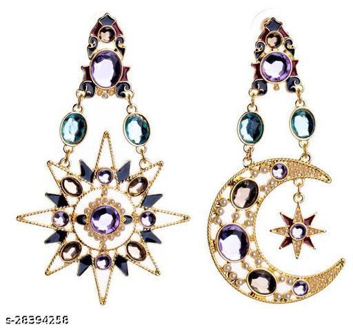 Stylish Trendy Designer Twinkling Glittering Earrings for Women and Girls Gift