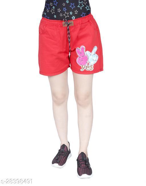 Casual Glamarous Women Shorts