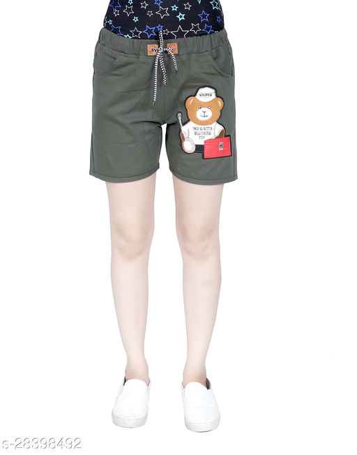Elegant Glamarous Women Shorts
